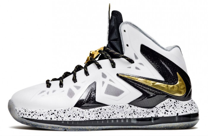 Nike LeBron X P.S. Elite White Gold (1)