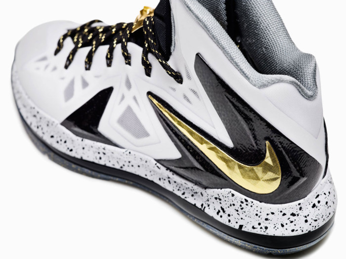 Nike LeBron X P.S. Elite White Gold (4)
