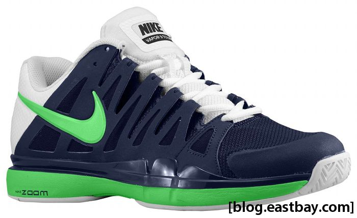 Nike Zoom Vapor 9 Tour Midnight Navy White Poison Green 588000-431 (1)