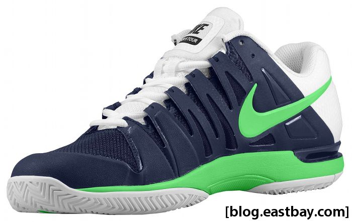 Nike Zoom Vapor 9 Tour Midnight Navy White Poison Green 588000-431 (2)