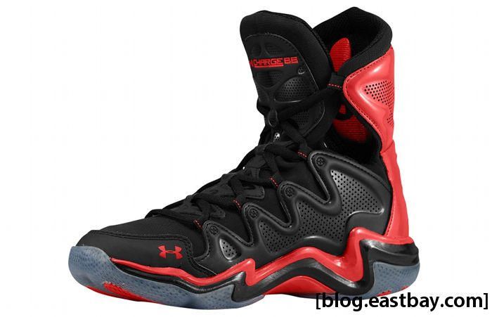 Under Armour Charge BB - Black/Red (2)
