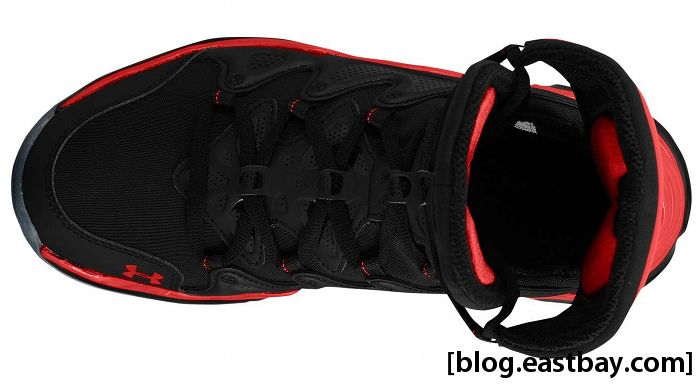 Under Armour Charge BB - Black/Red (4)