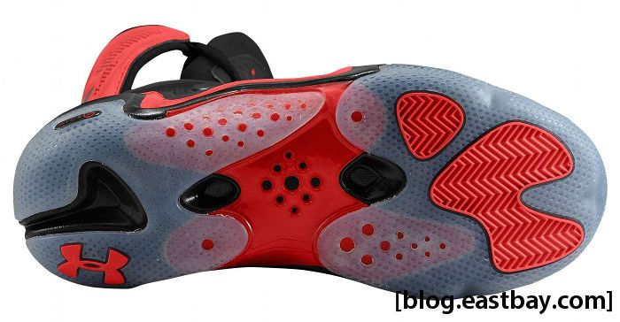 Under Armour Charge BB - Black/Red (5)
