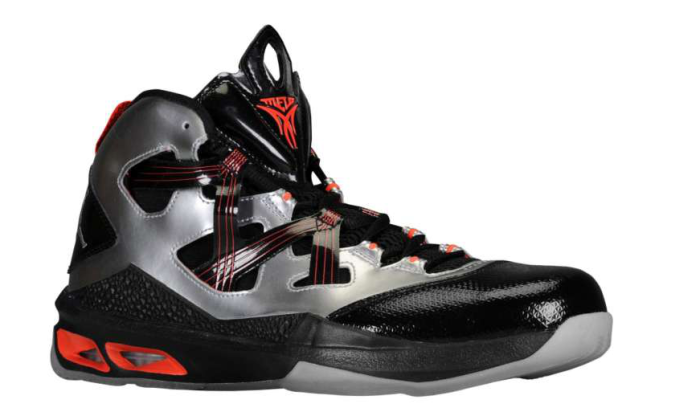 Jordan Melo M9 - Metallic Silver/Black-Orange