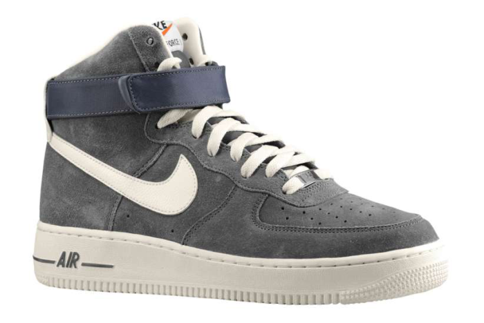 new styles 8a604 adca3 Nike Air Force 1 Hi Blazer Pack Grey ...