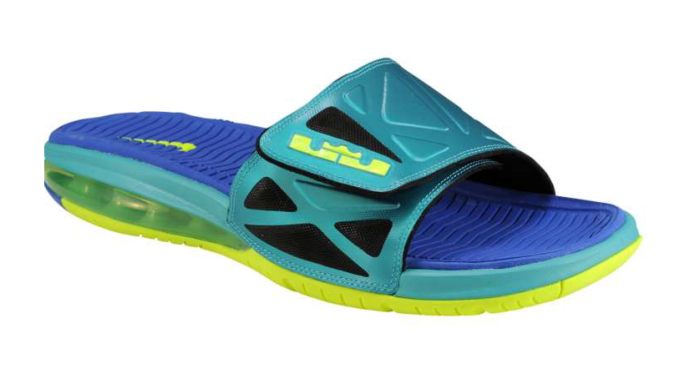 Available Nike Air LeBron 2 Slide Elite – Sport Turquoise