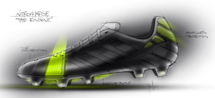 adidas Nitrocharge Soccer Cleats Sketch