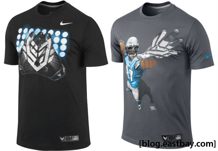 Nike CJ81 Elite Calvin Johnson DriFIT T-Shirt