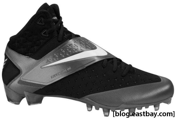 Nike CJ81 Elite Calvin Johnson Black White Tornado