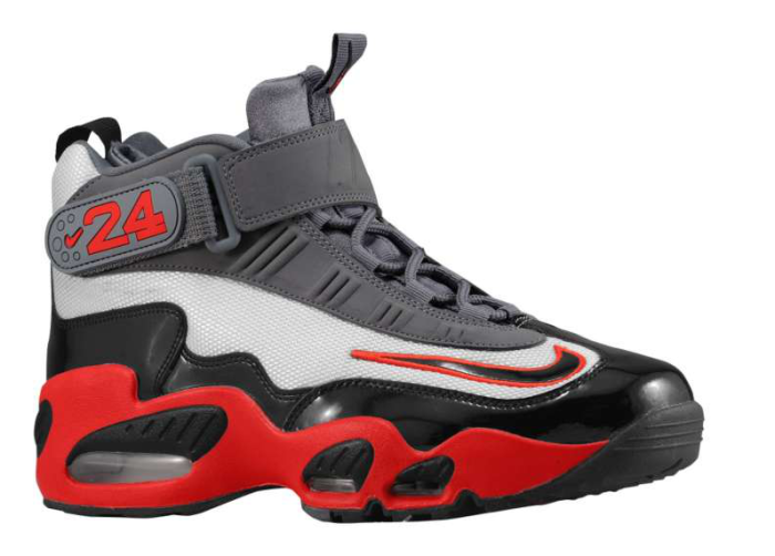 Nike Air Griffey Max 1 - Cool Grey/Black-Pimento