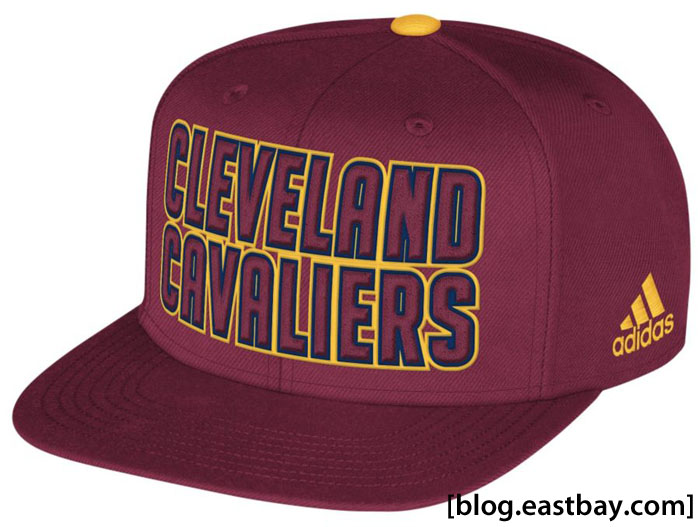 adidas 2013 NBA Authentic Draft Snapback Cap - Cleveland Cavaliers