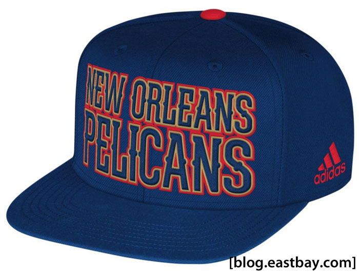 adidas 2013 NBA Authentic Draft Snapback Cap - New Orleans Pelicans