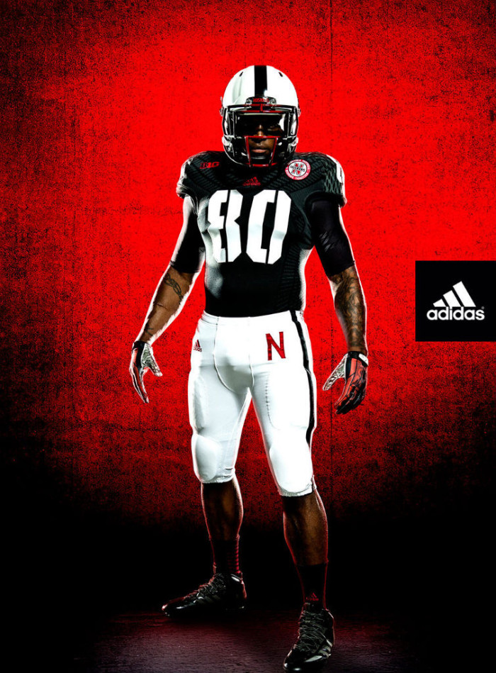 Nebraska New adidas TECHFIT Unrivaled Game Alternate Uniforms (1)
