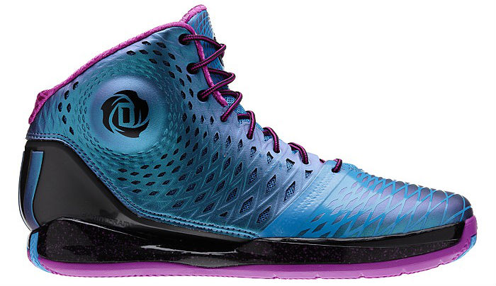 9e359aa2bdda adidas Rose 3.5 Black Joy Blue Pink G66967 (1)