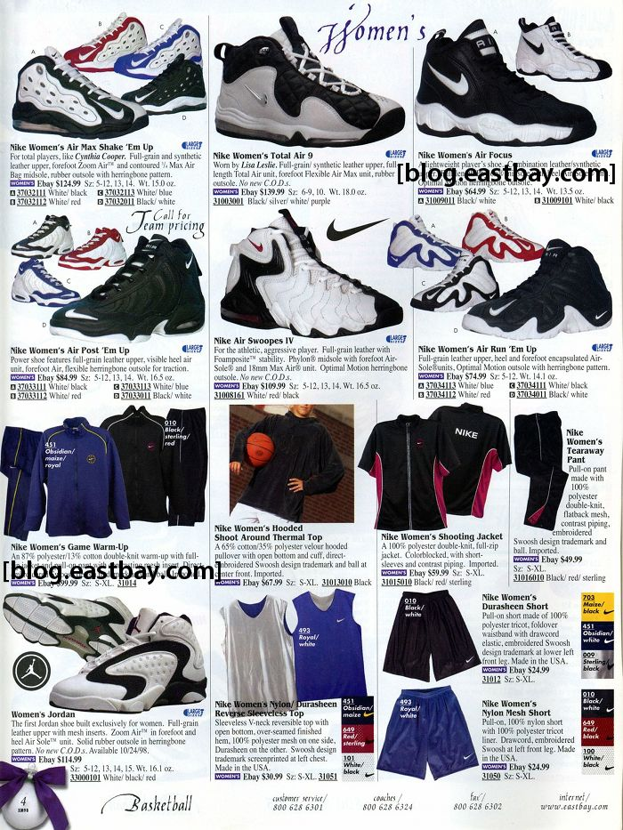 Eastbay Memory Lane // Women's Basketball 1998