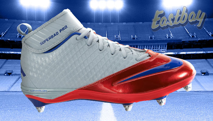 NFL Team Colors: Now Hitting Your Field - Nike Lunar Superbad Pro D New York Giants