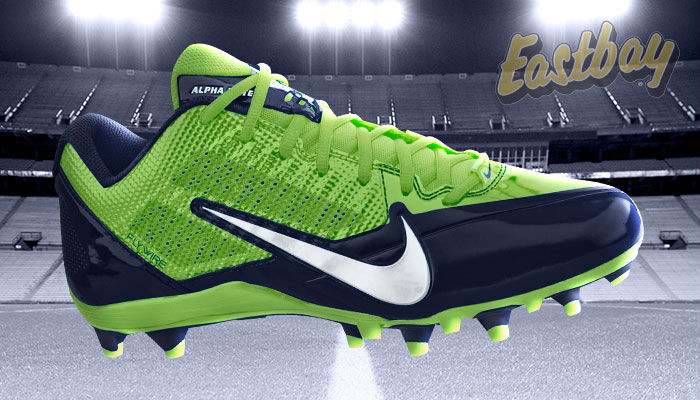 NFL Team Colors: Now Hitting Your Field - Nike Alpha Pro Low TD Seattle Seahawks