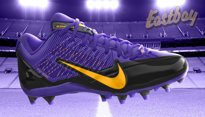 NFL Team Colors: Now Hitting Your Field - Nike Alpha Pro Low TD Minnesota Vikings