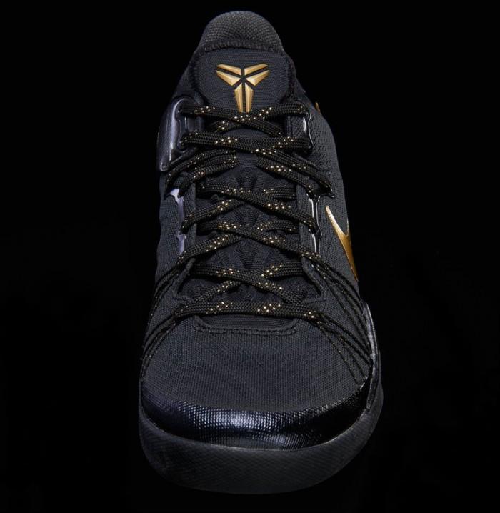 4813f4a768ea Nike Kobe 8 System Elite Black Metallic Gold 603269-100 (3)