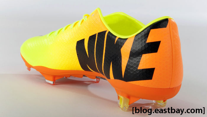 Nike Mercurial Vapor IX Volt Bright Citrus Black 555605-708 (2)