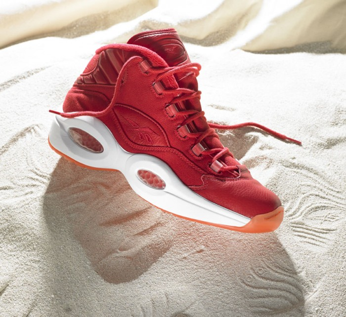 Reebok Question Mid - Summer Canvas Pack Red