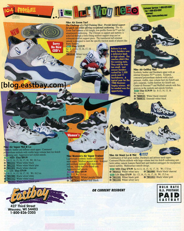 Eastbay Memory Lane // Nike Training 1996