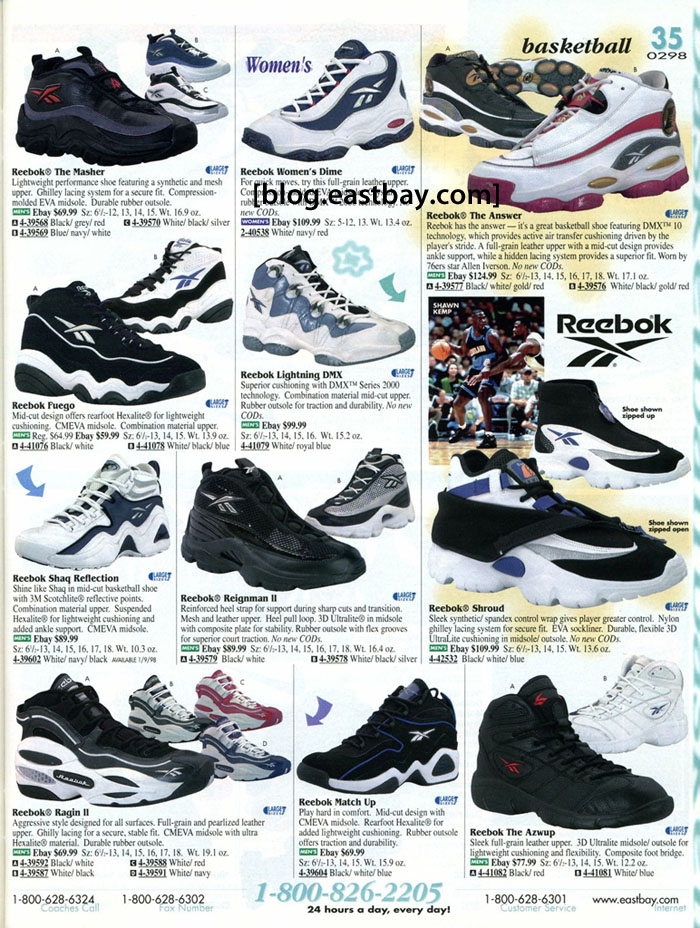 Eastbay Memory Lane // Reebok Basketball 1998 Featuring The Answer 1