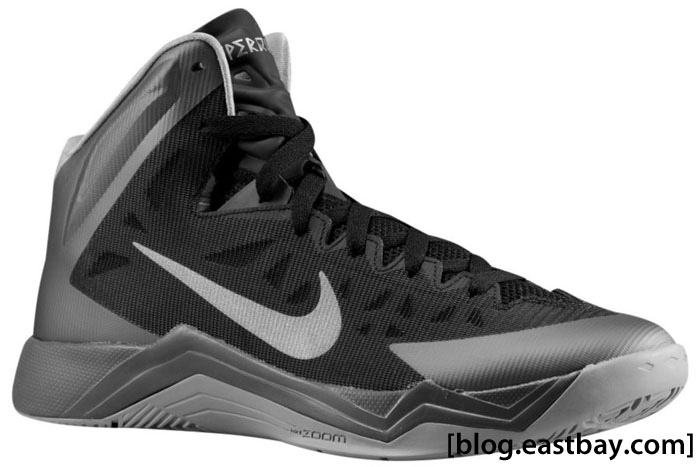 Nike Hyper Quickness Black Dark Grey Metallic Silver