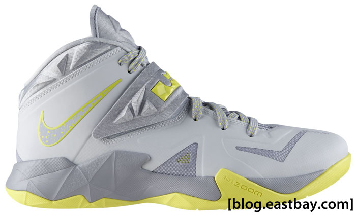 Nike Zoom Soldier VII Pure Platinum Sonic Yellow Wolf Grey 599264-001 (1)