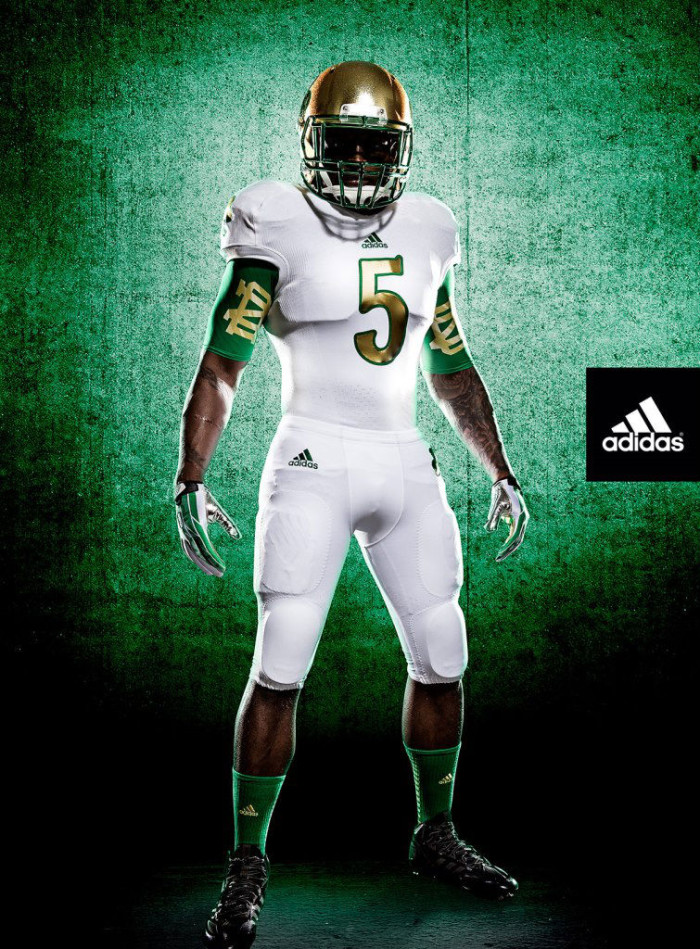 adidas Unveils New Notre Dame Shamrock Series Uniforms (1)