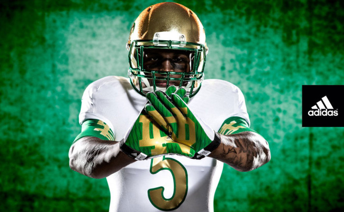adidas Unveils New Notre Dame Shamrock Series Uniforms  6a77517b4