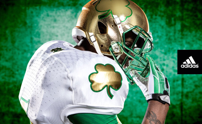 adidas Unveils New Notre Dame Shamrock Series Uniforms (3)