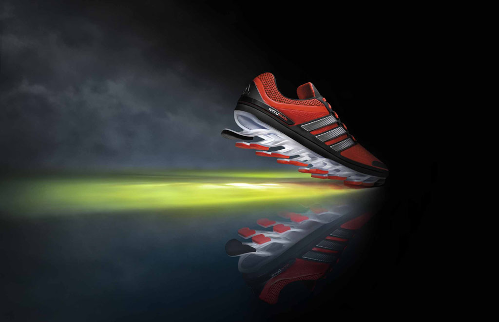 adidas Springblade Men's Infrared Metallic Silver Black (1)