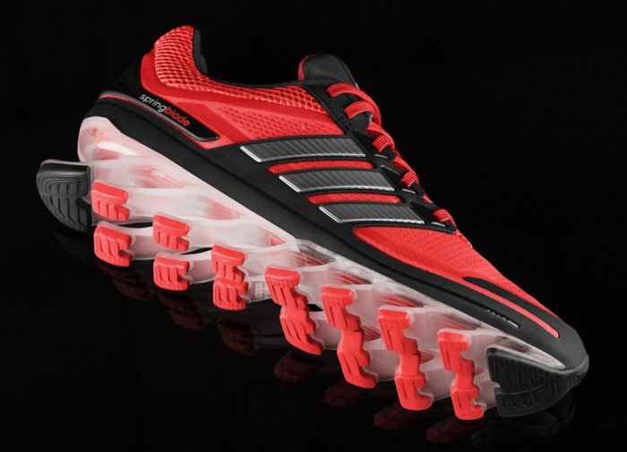 adidas Springblade Men's Infrared Metallic Silver Black (4)