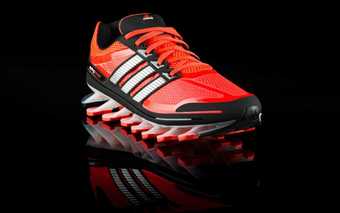 adidas Springblade Men's Infrared Metallic Silver Black (8)