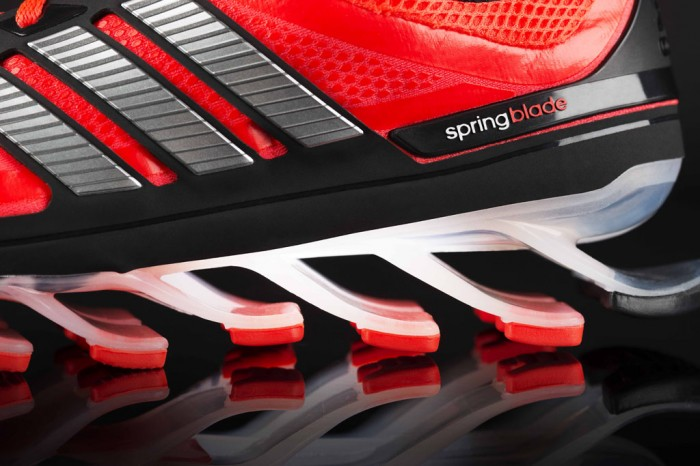 adidas Springblade Men's Infrared Metallic Silver Black (9)