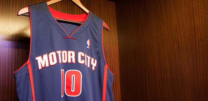 Detroit Pistons Unveil 'Motor City' Alternate Uniforms (1)