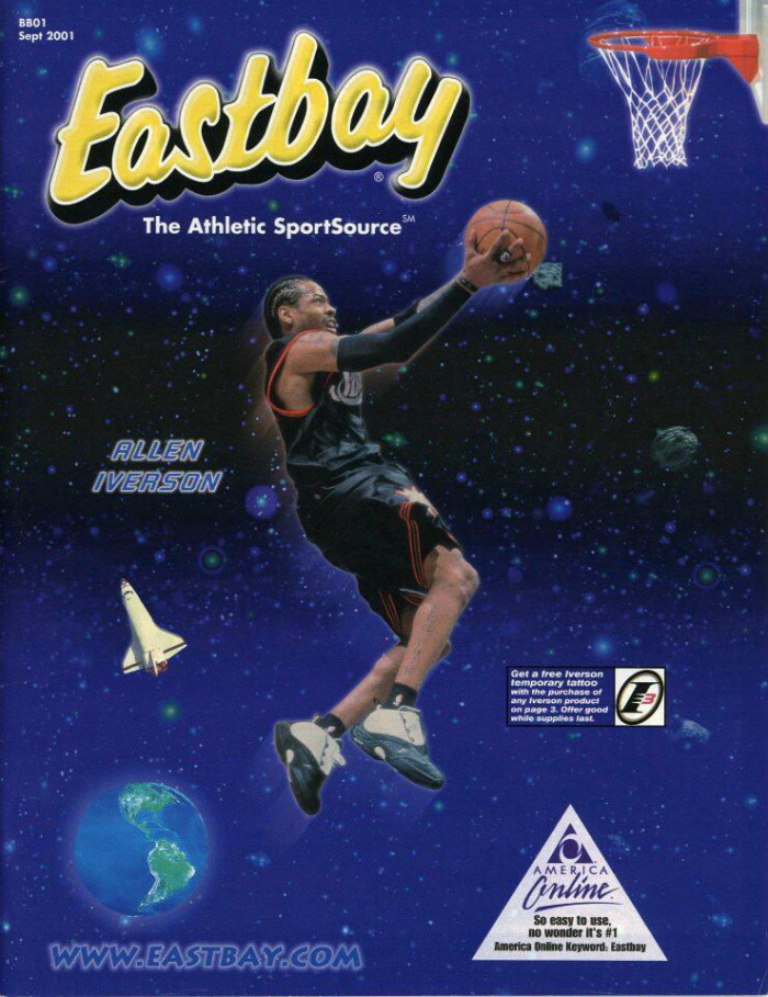 Eastbay Memory Lane // Allen Iverson, September 2001