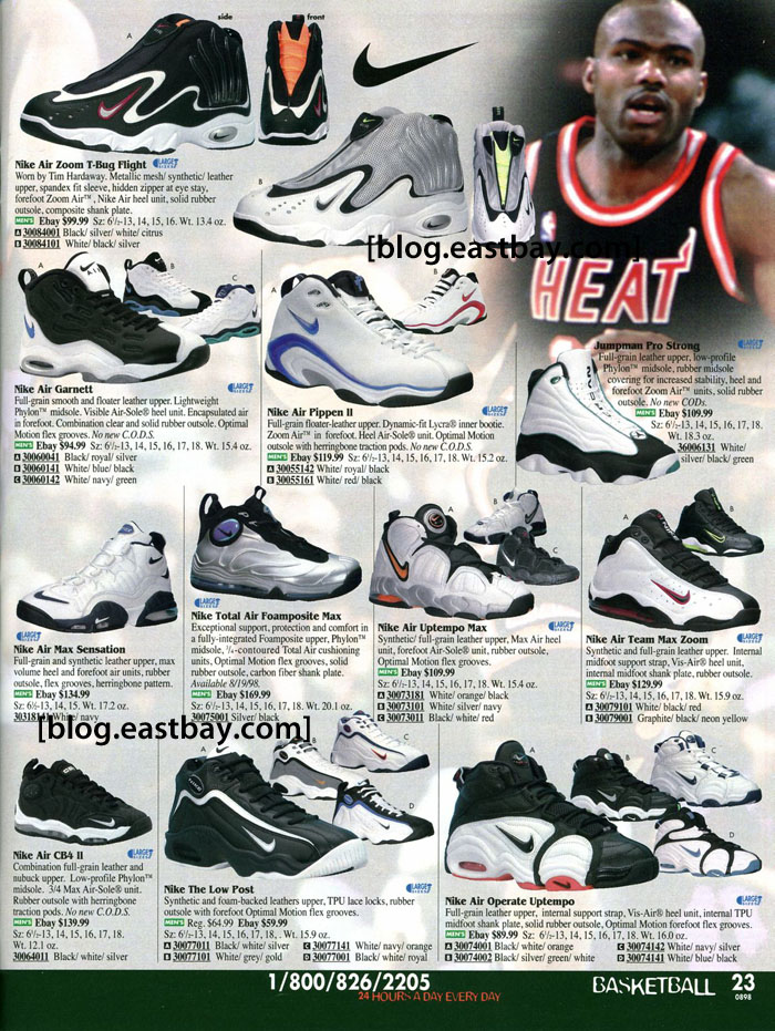Eastbay Memory Lane // Tim Hardaway's Nike Air Zoom T-Bug Flight