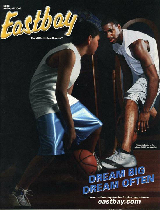 Eastbay Memory Lane // Tracy McGrady, April 2002