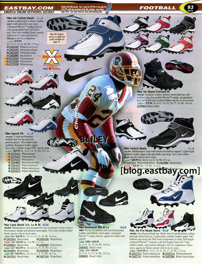 Eastbay Memory Lane // Football 2000 Featuring Champ Bailey for Nike