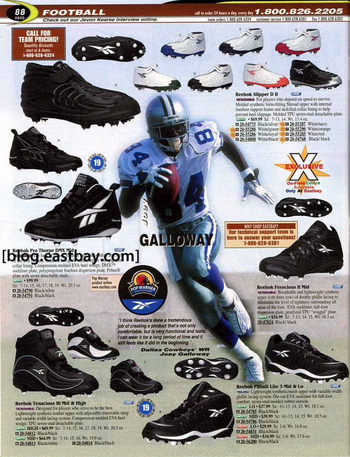 de4f6caba Eastbay Memory Lane    Football 2000 Featuring Joey Galloway for Reebok