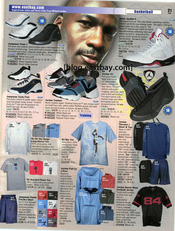 Eastbay Mobile Blog, Features, Releases