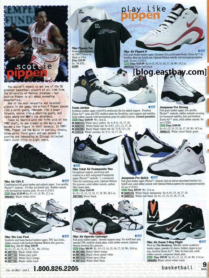 bc1a886a681 Eastbay Memory Lane    Play Like Pippen - Nike Air Pippen II ...