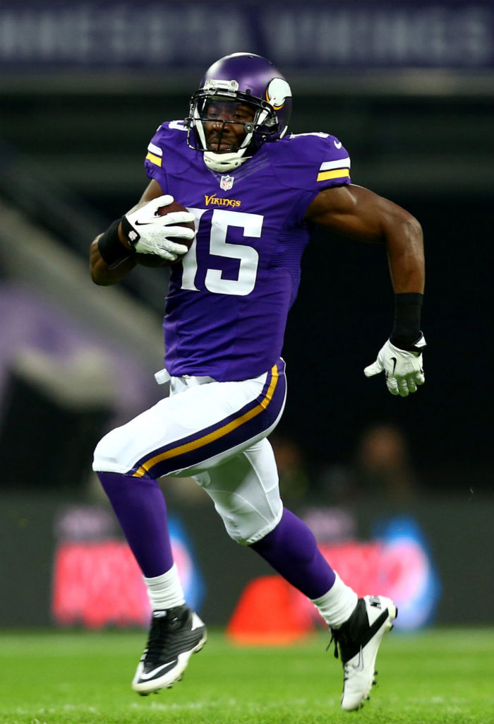 Greg Jennings wearing Nike Super Speed