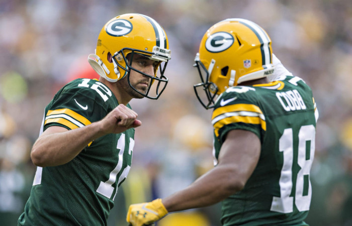 NFL Watch // Rodgers Has Career Best Performance In Home Win