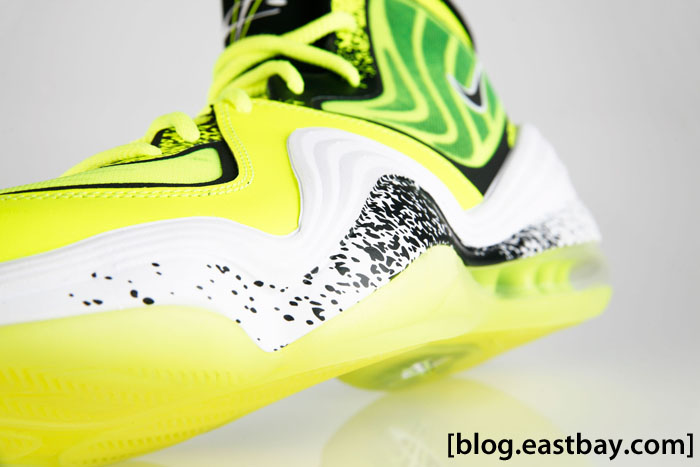 Nike Air Penny V Highlighter HL Volt 628568-701 (9)