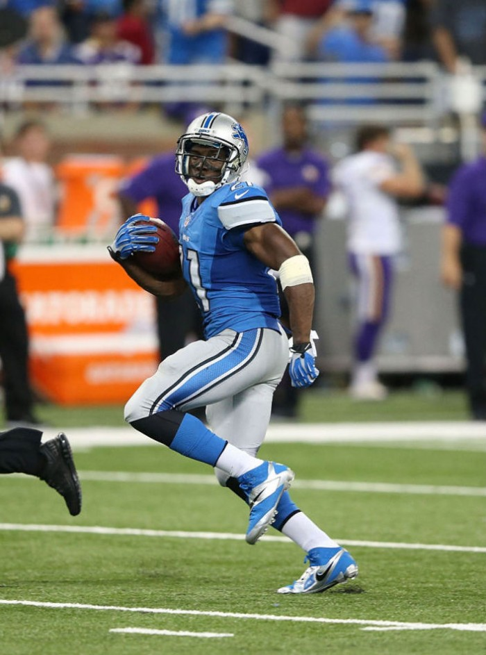 Reggie Bush wearing Nike CJ81 Elite TD