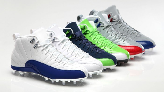 Jordan Brand Introduces New NFL Athletes, Air Jordan 12 XII PE Cleats
