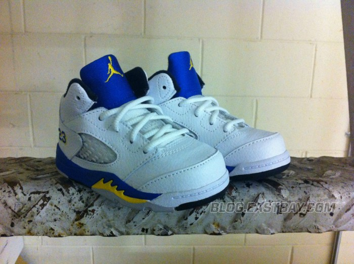Air Jordan 5 Retro Toddler - 'Laney' (1)